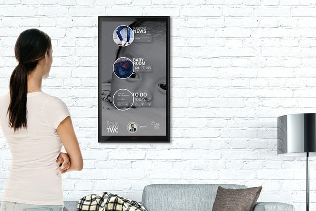 lucy wall ipad smart home assistant digitaltrend 07