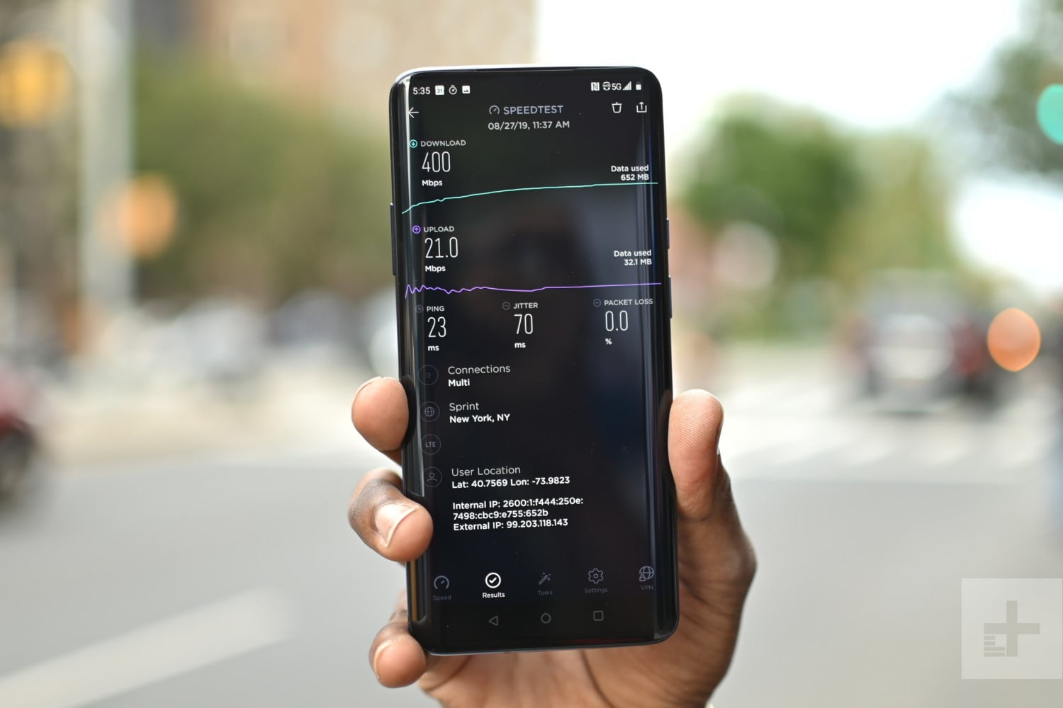 Testing the $840 OnePlus 7 Pro on Sprint's 5G Network