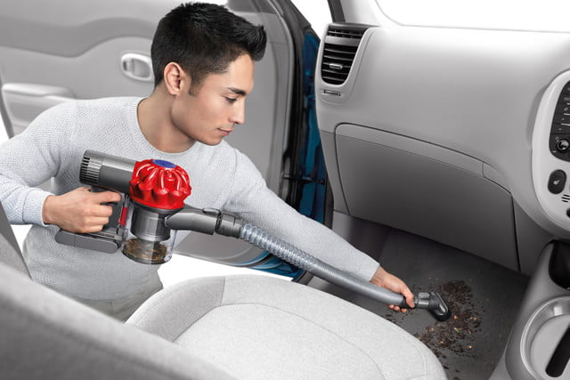 walmart knocks down prices on dyson handheld vacuums in post prime day sale v6 trigger vacuum car  boat 4