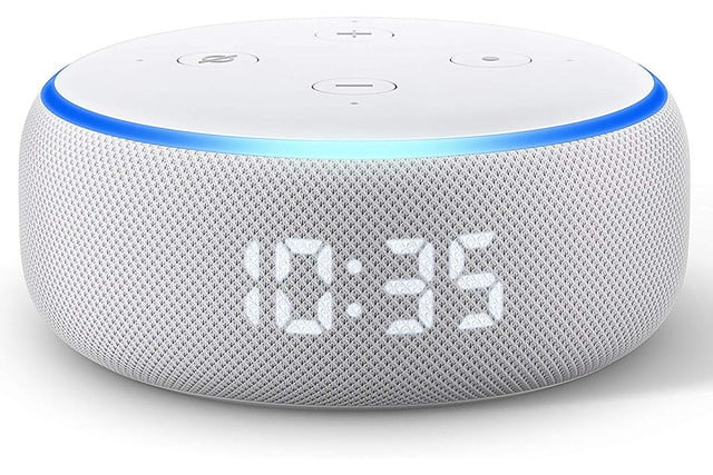 amazon cuts the prices on new echo dot with clock and show 5 6  1