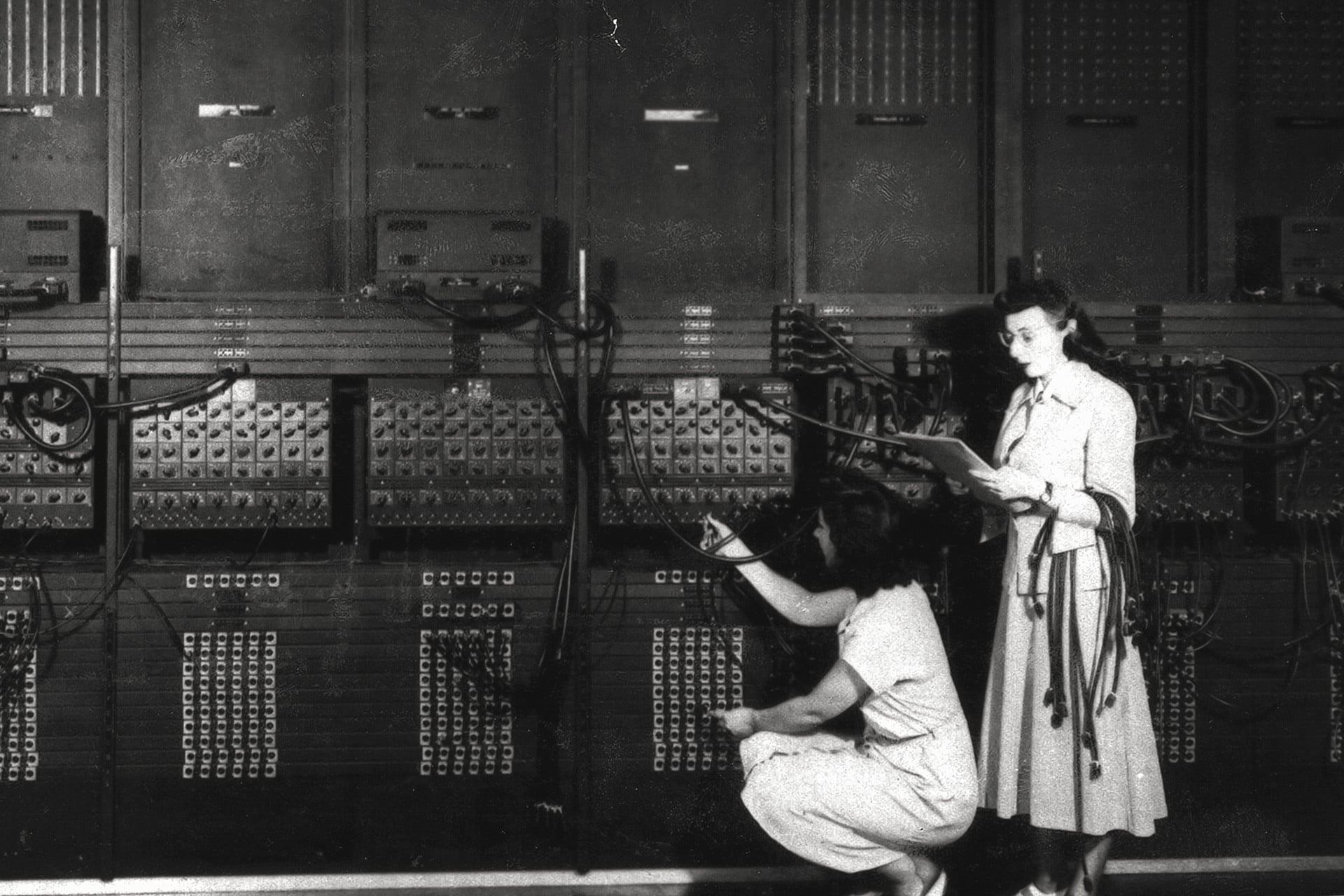 The First Digital Picture.Remembering Eniac And The Women Who Programmed It Digital