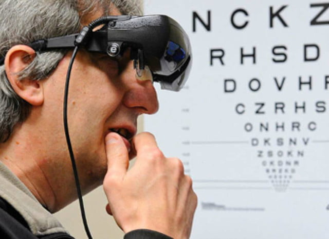 esight electronic glasses let a little blind boy see in use