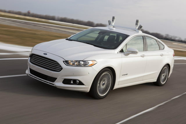 ford releases fusion hybrid research vehicle will explore autonomous driving tech 3