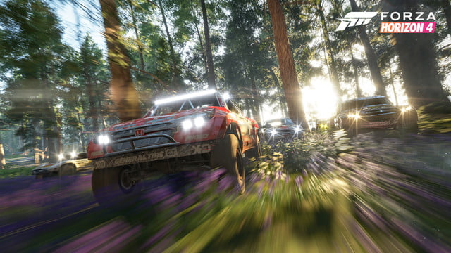 Forza Horizon 4 Forest Trucks