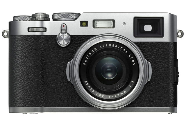 fujifilm x100 series x100f faster resolution silver front
