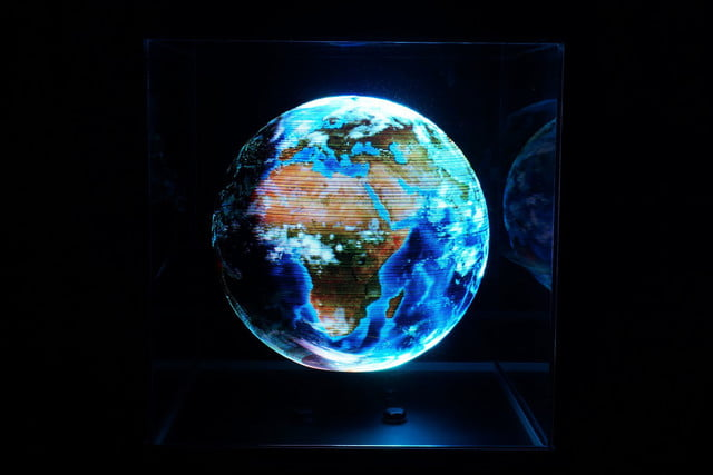 new crowdfunding projects Globe sphere led display
