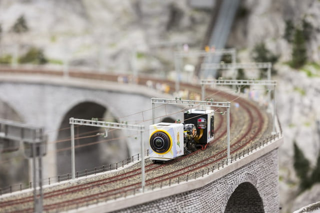 google street view miniatur wunderland video news mini tilt shift 1