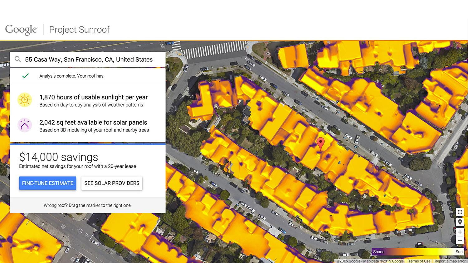 Google Solar Roof >> Project Sunroof Is Google Maps For Solar Power Digital Trends