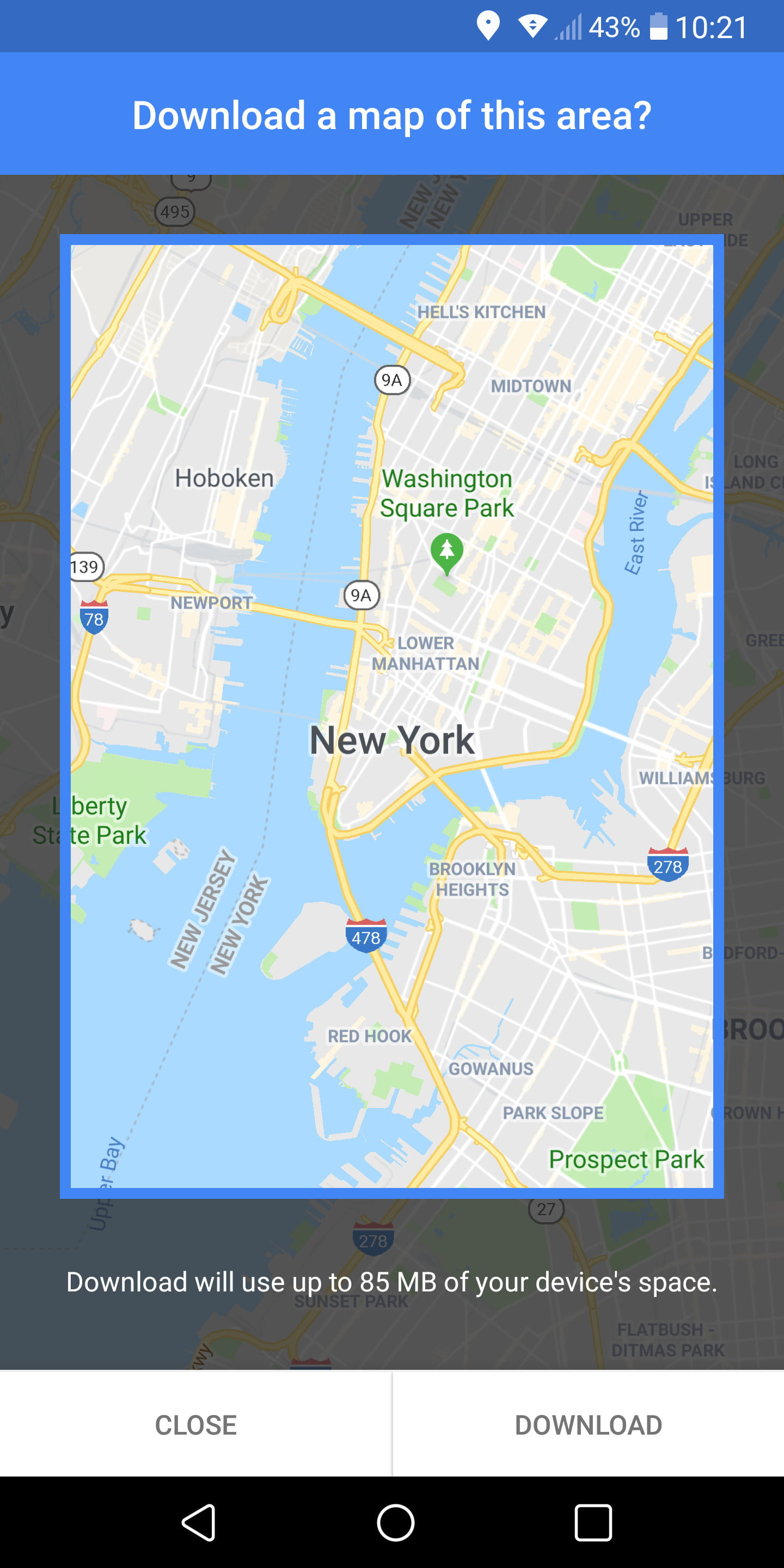 Iphone Map Of New York Offline.How To Use Google Maps Digital Trends