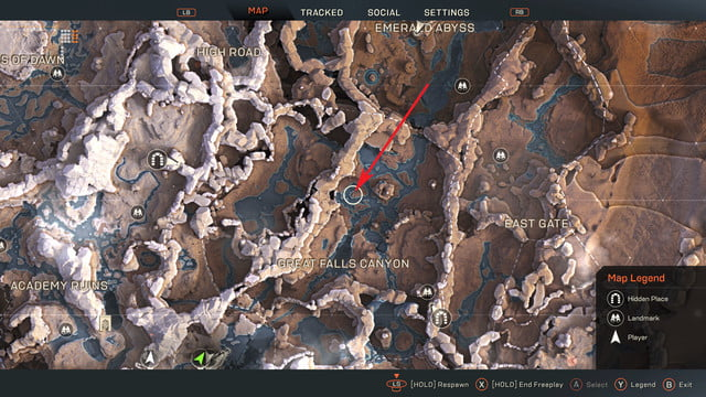 anthem where to find titans locations and missions greatfallscanyon