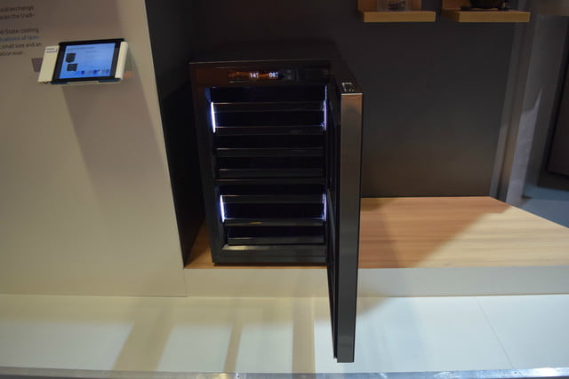 haiers solid state wine fridge uses magnetic cooling haier 2