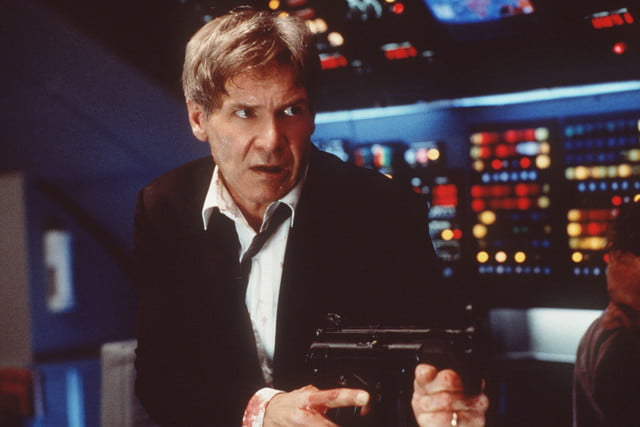 Harrison Ford as President James Marshall, Air Force One (1997)