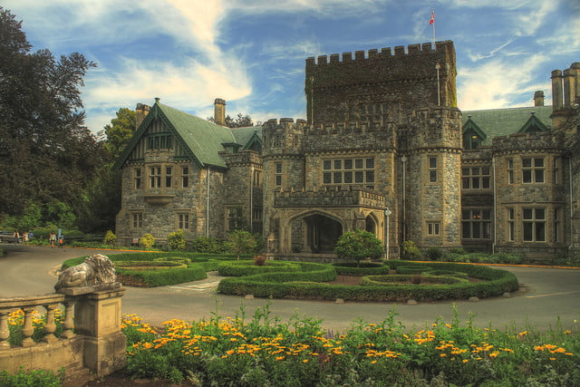 10 famous movie locations you can actually visit hatley castle bc