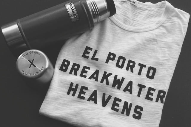 flipping through the manual skiing scarves and movember brands hiro clark teams with verve coffee roasters for t shirt line