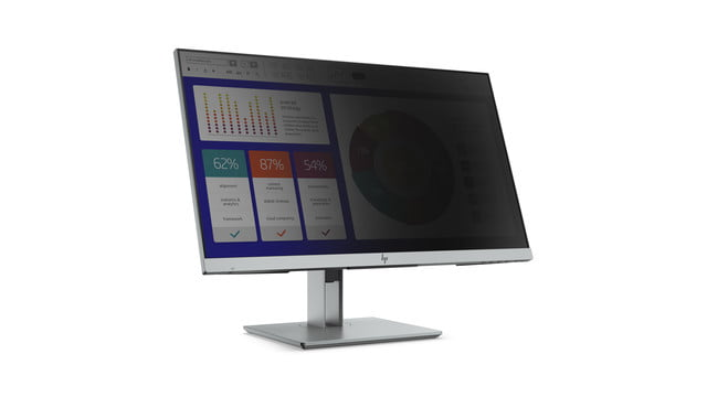 hp launches new monitors and all in one ces 2019 elitedisplay e243p sure view monitor front right w