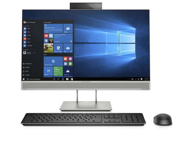 hp launches new monitors and all in one ces 2019 eliteone 800 g5 aio front w webcam