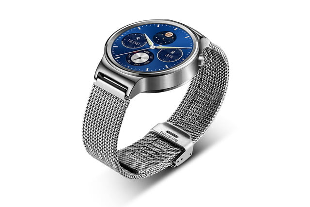huawei watch news stainless mesh left angle