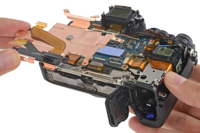 ifixit tears apart sony a7r ii camera calls it mighty feat of engineering a7rii teardown 5