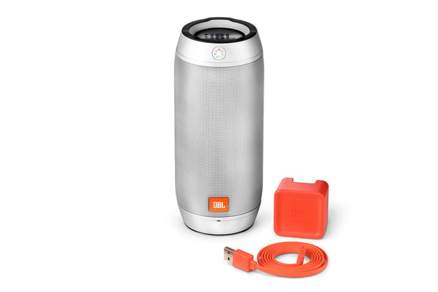 jbl new bluetooth speakers boost tv trip pulse 2 ifa 2015 image  pulse2 silver accessories