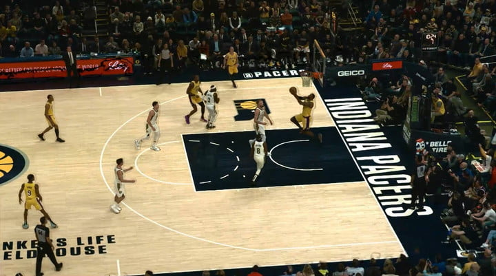Intel's AI enhancements offer a new camera perspective for sports broadcasts