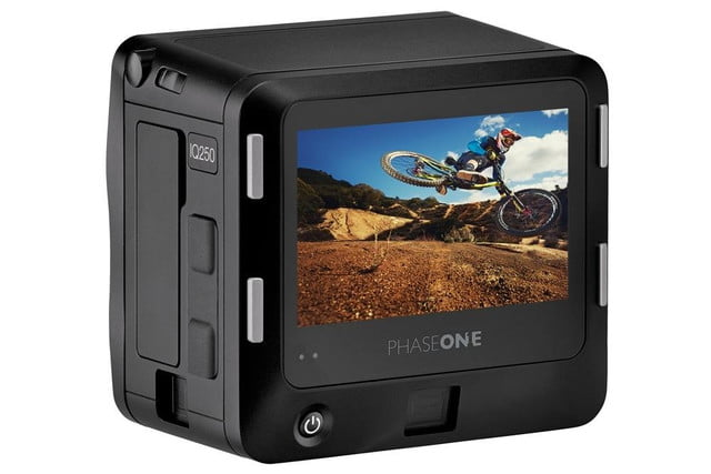 phase one iq250 is worlds first cmos based medium format digital back display white