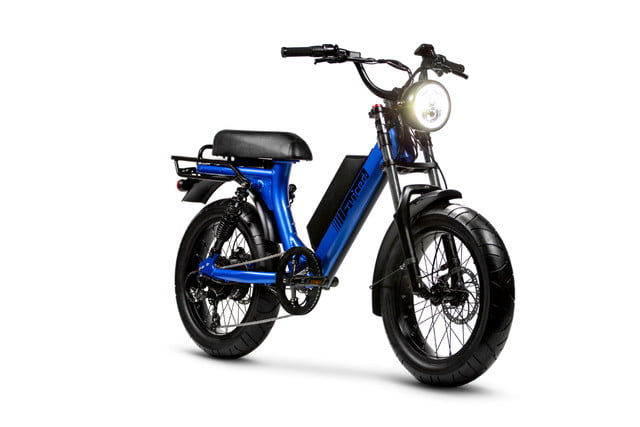 juiced bikes scorpion moped style e bike packs performance safety and comfort 04