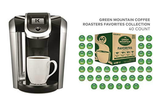 amazon daily deal keurig k475 single serve k cup pod coffee maker with 40 pods 1