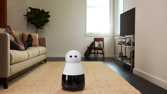kuri vision robot video camera speaks