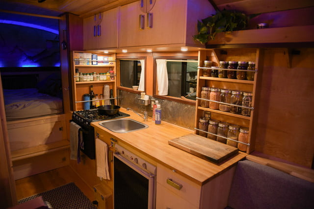 coolest bus to mobile home conversions kylevolkmankitchen