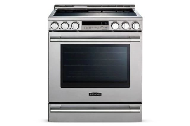 signature is a luxury smart appliance brand from lg kitchen suite electric range