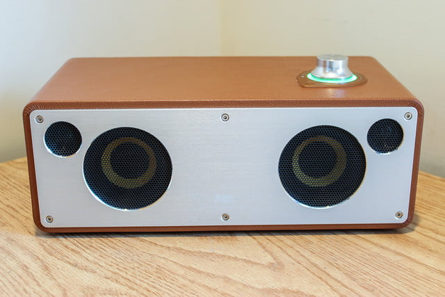 m3 leatherbound bookshelf wireless speaker video 4