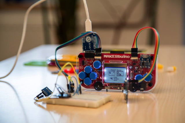 makerbuino handheld gaming kickstarter is hackable