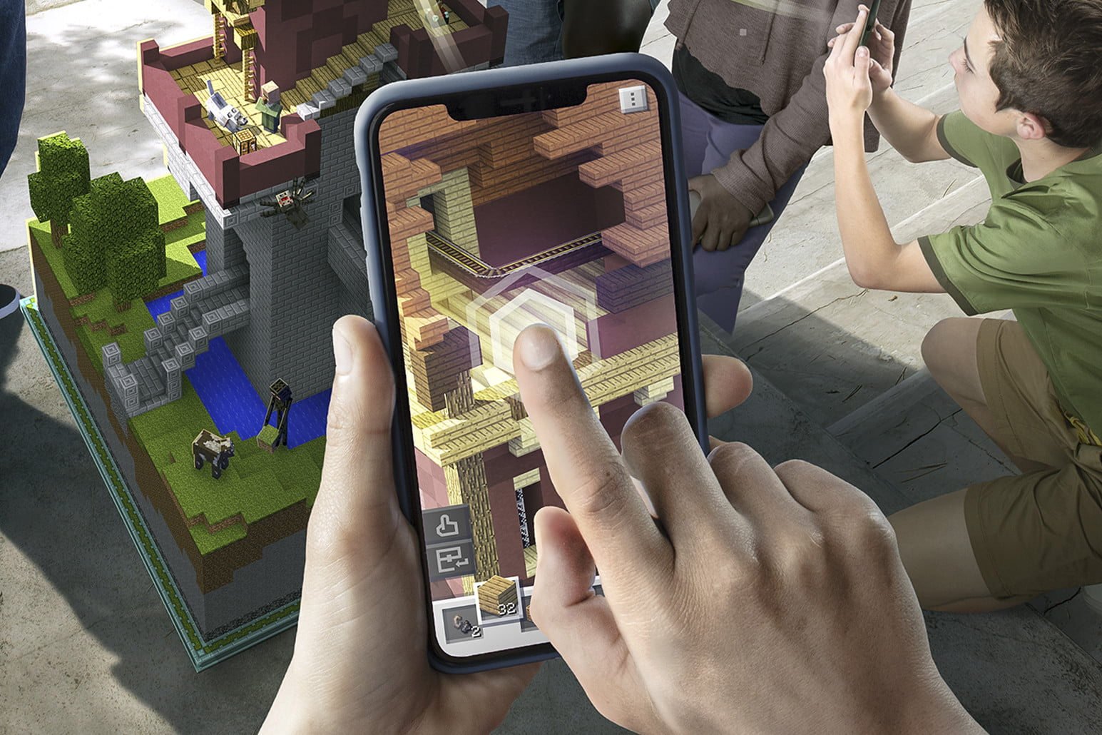 Minecraft Earth Hands On Preview The Next Big Ar Craze Is