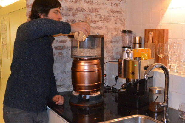 The MiniBrew Is a Little Machine for Homebrewing Beer