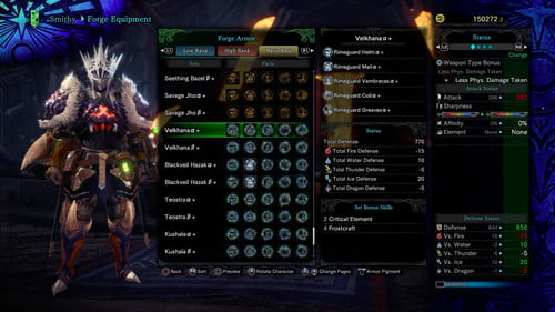 Monster Hunter World: Iceborne Armor and Weapons Guide