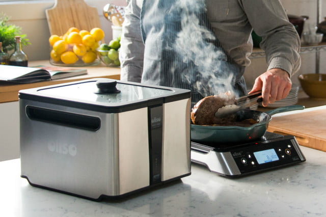 oliso smarthub sous vide induction cooktop
