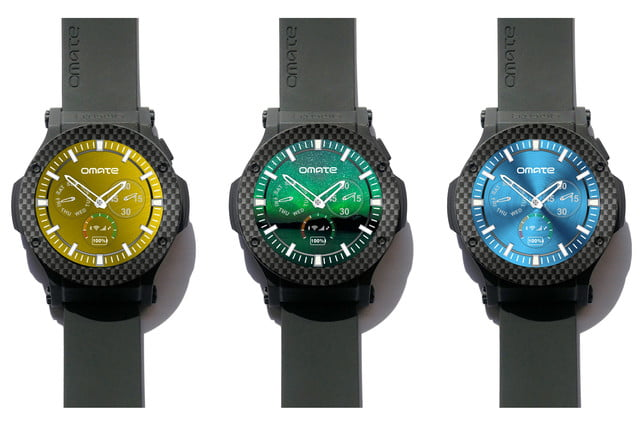 omate rise 3g smartwatch news faces