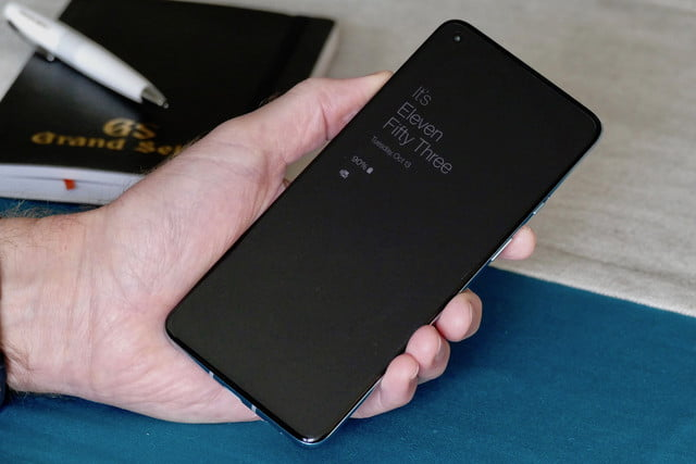 oneplus 8t review always on screen