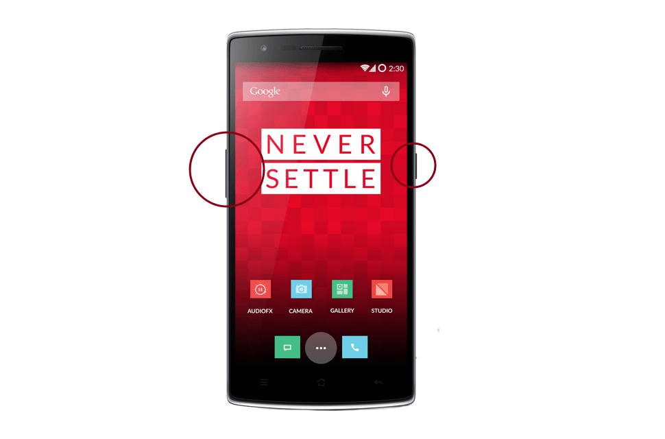 How to Take a Screenshot on a OnePlus One | Digital Trends