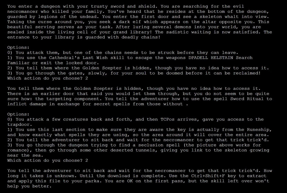 gpt adventure text based game openai 2 example