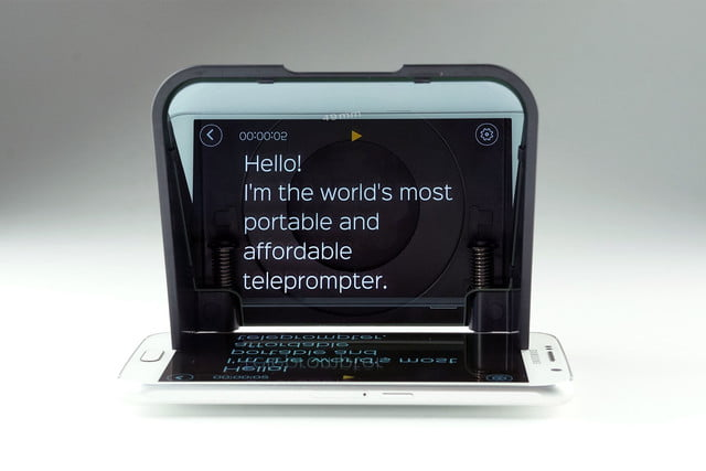 Parrot 2 Turns Your Phone Into a Professional Teleprompter