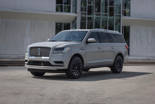 2020 lincoln navigator gets phone as key tech