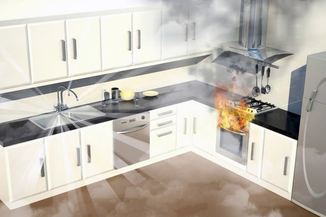 the automist uses less water than sprinklers to put out fires plumis 10