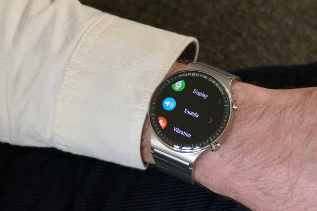 porsche design huawei watch gt2 product name hands on features price photos release date deep menu