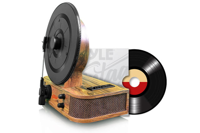 pyle usa bluetooth vertical turntable 2