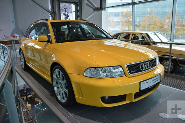 audi official museum rs4