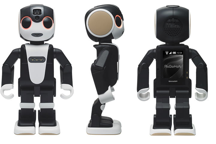 RoBoHon Is The Robot Smartphone You've Always Wanted