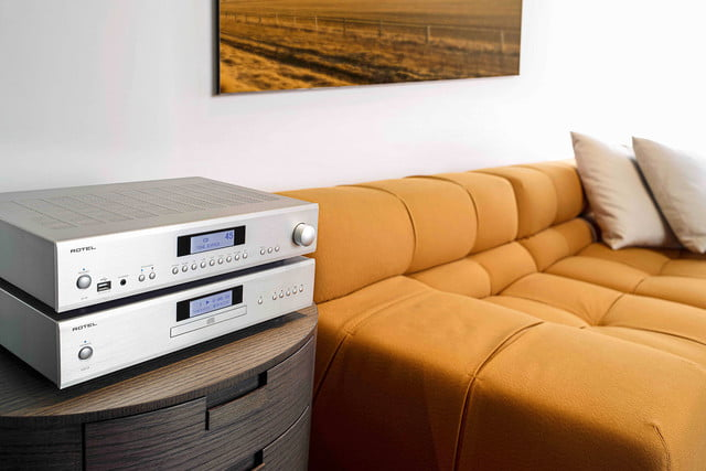 rotel introduces 14 series amplifiers cd player a14 cd14 2