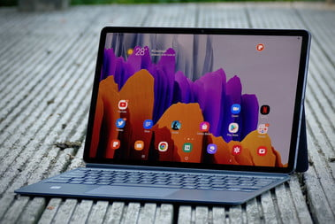 Samsung Galaxy Tab S7 Plus Review Awesome Tablet For Video Digital Trends
