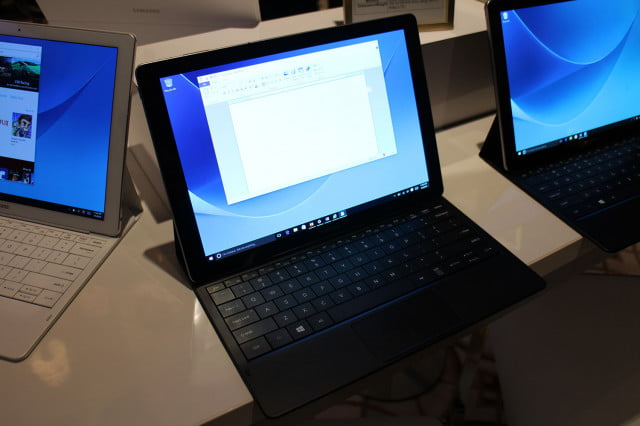 samsung tabpro s hands on ces 2016 galaxy 9772
